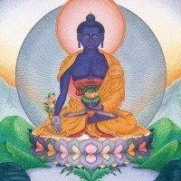 Medicine Buddha: Lapis Lazuli