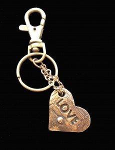 Bronze charm/keyring